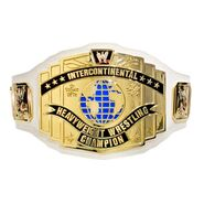 WWE White Intercontinental Championship Replica Title Belt