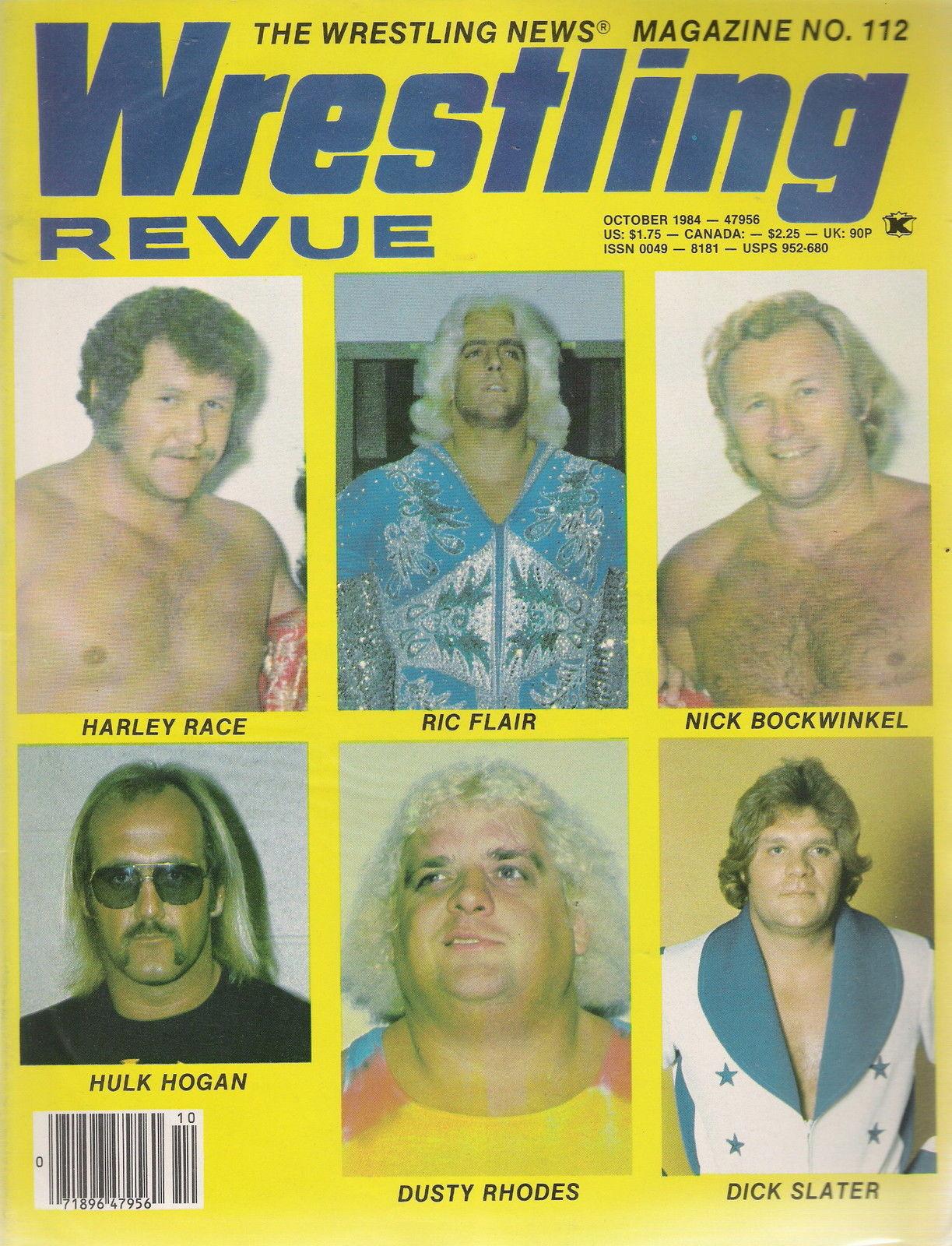 Wrestling Revue - October 1984