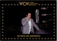 1991 WCW Collectible Trading Cards (Championship Marketing) No Hold The Anchovies 88