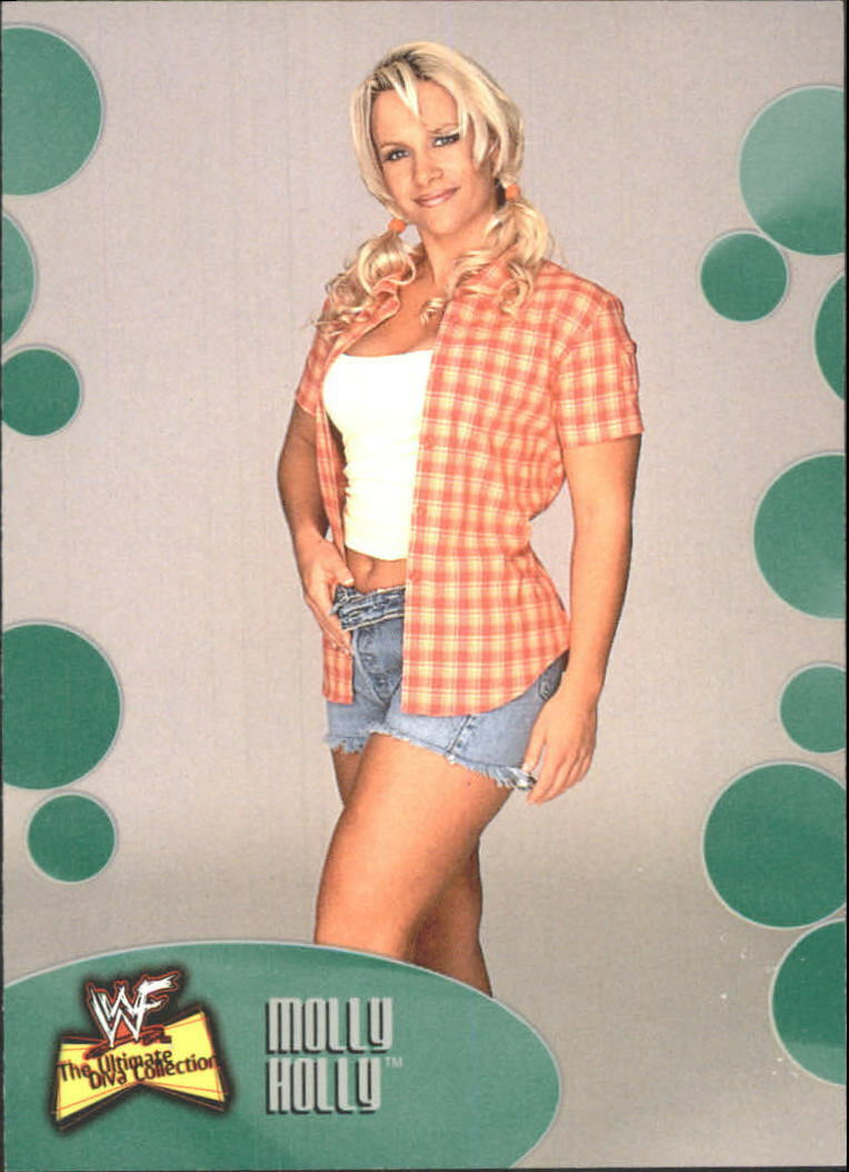 2001 WWF The Ultimate Diva Collection (Fleer) Molly Holly (No.34)
