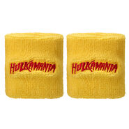 Hulk Hogan Hulkamania Yellow Wristbands