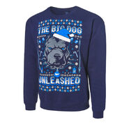 Roman Reigns The Big Dog Unleashed Ugly Holiday Sweatshirt
