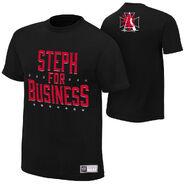 Stephanie McMahon Steph For Business T-Shirt