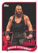 2018 WWE Heritage Wrestling Cards (Topps) Braun Strowman 15
