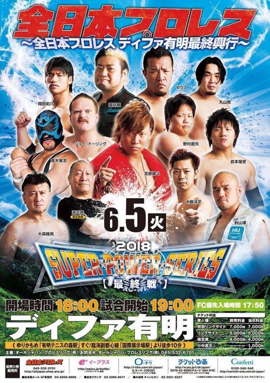 AJPW Last Differ Ariake Box Office