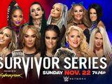 Survivor Series 2020 Women's Tag Team Elimination Match