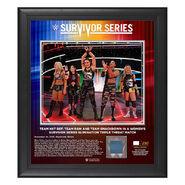 Team NXT Survivor Series 2019 15x17 Limited Edition Plaque