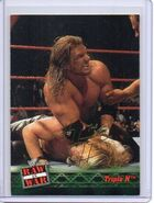 2001 WWF RAW Is War (Fleer) Triple H 2