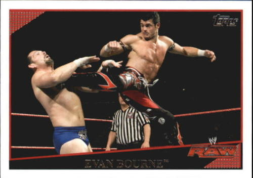 2009 WWE (Topps) Evan Bourne (No.15)