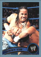 2011 WWE (Topps) Jimmy Uso 34
