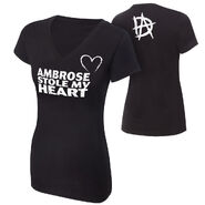 Dean Ambrose Stole My Heart Women's T-Shirt