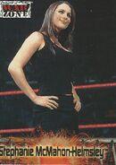 2001 WWF RAW Is War (Fleer) Stephanie McMahon-Helmsley 68