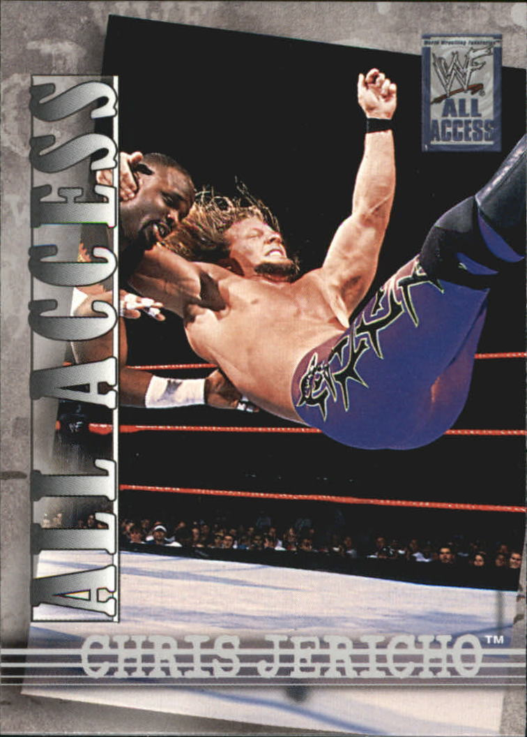 2002 WWF All Access (Fleer) Chris Jericho (No.9)