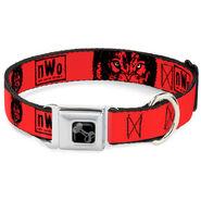 NWo Wolfpac Dog Collar