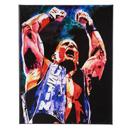 Stone Cold Steve Austin 11 x 14 Gallery Wrapped Canvas Wall Art