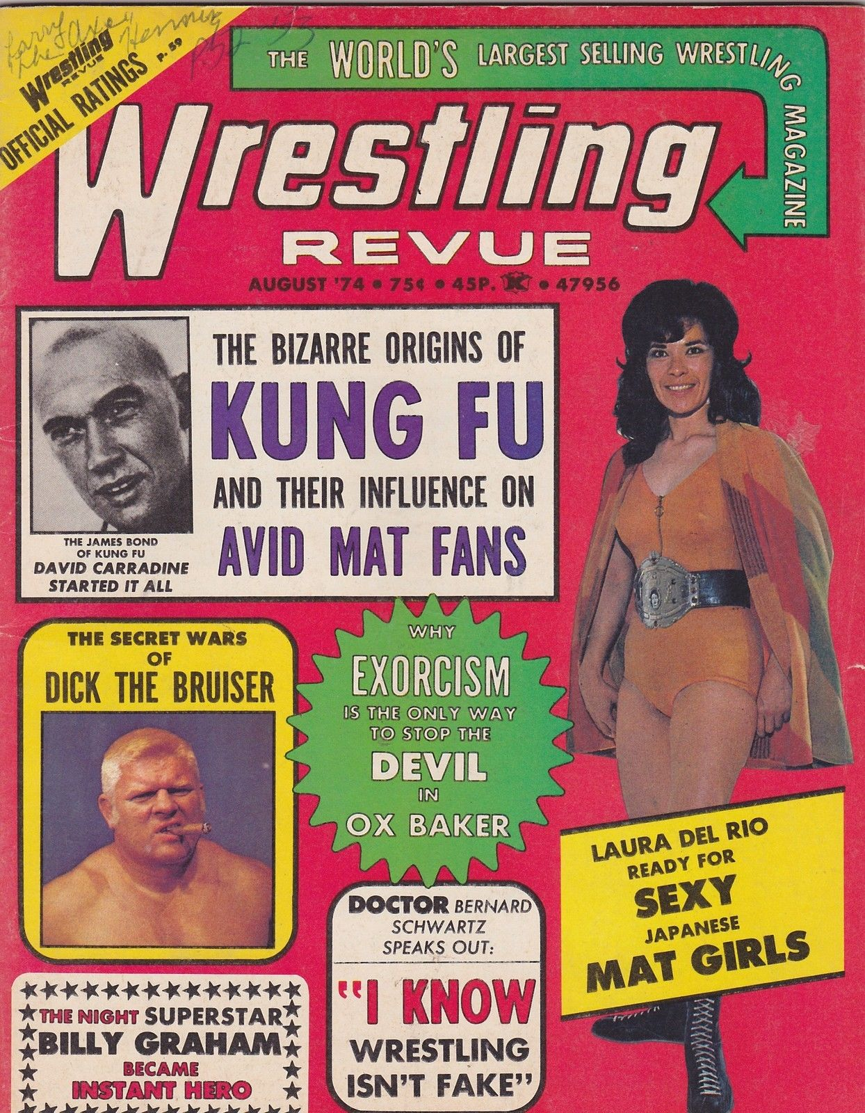 Wrestling Revue - August 1974
