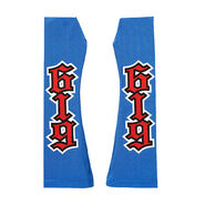 REY Mysterio BLUE RED ARM SLEEVES