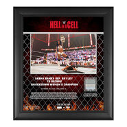Sasha Banks Hell In A Cell 2020 15x17 Commemorative Plaque