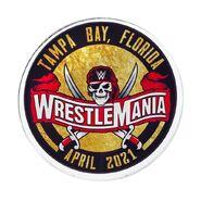 WrestleMania 37 Acrylic Magnet