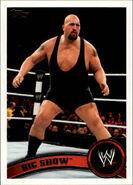 2011 WWE (Topps) Big Show 56