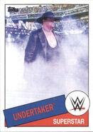2015 WWE Heritage Wrestling Cards (Topps) Undertaker 97
