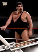 2017 WWE (Topps) Then, Now, Forever Andre The Giant 182