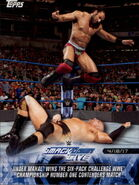 2018 WWE Road to Wrestlemania Trading Cards (Topps) Jinder Mahal 85