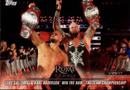 2018 WWE Road to Wrestlemania Trading Cards (Topps) Luke Gallows & Karl Anderson 11
