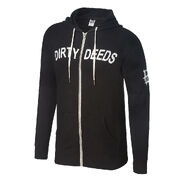 Dean Ambrose Dirty Deeds Unisex Lightweight Full-Zip Hoodie Sweatshirt