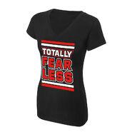 Nikki Bella Totally Fearless Women's V-Neck Authentic T-Shirt