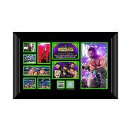Seth Rollins Signed WrestleMania 34 Commemorative Plaque