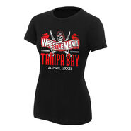 WrestleMania 37 Logo Women's T-Shirt