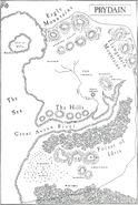 Imaginary Places - Prydain Map