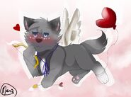 Eyra as cupid Valentines Day Special 2020