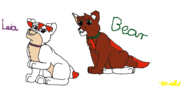 Psi patrol Leia i Bear