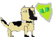 Grey the miloner pup