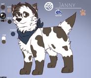 Janny character sheet