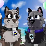 Eyra and Ray celebrating Ray's birthday Birthday Special