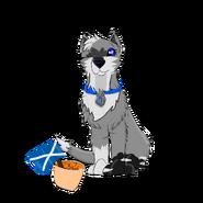 Seitarou Sakura with nachos and flag of Scotland in it Scotland trip special 2019