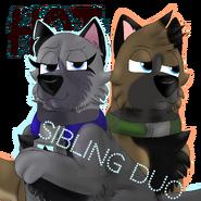 Eyra and Kieran hot sibling duo