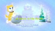 Christmas in Paw Patrol tittle card