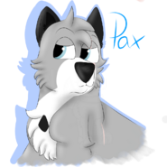 Pax with blue outline by Chye