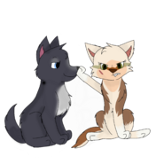 Kasha and Altron by Puppy