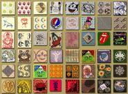 LSD blotter