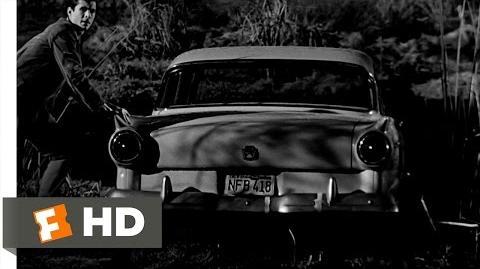 Psycho (7 12) Movie CLIP - Sinking Marion's Car (1960) HD