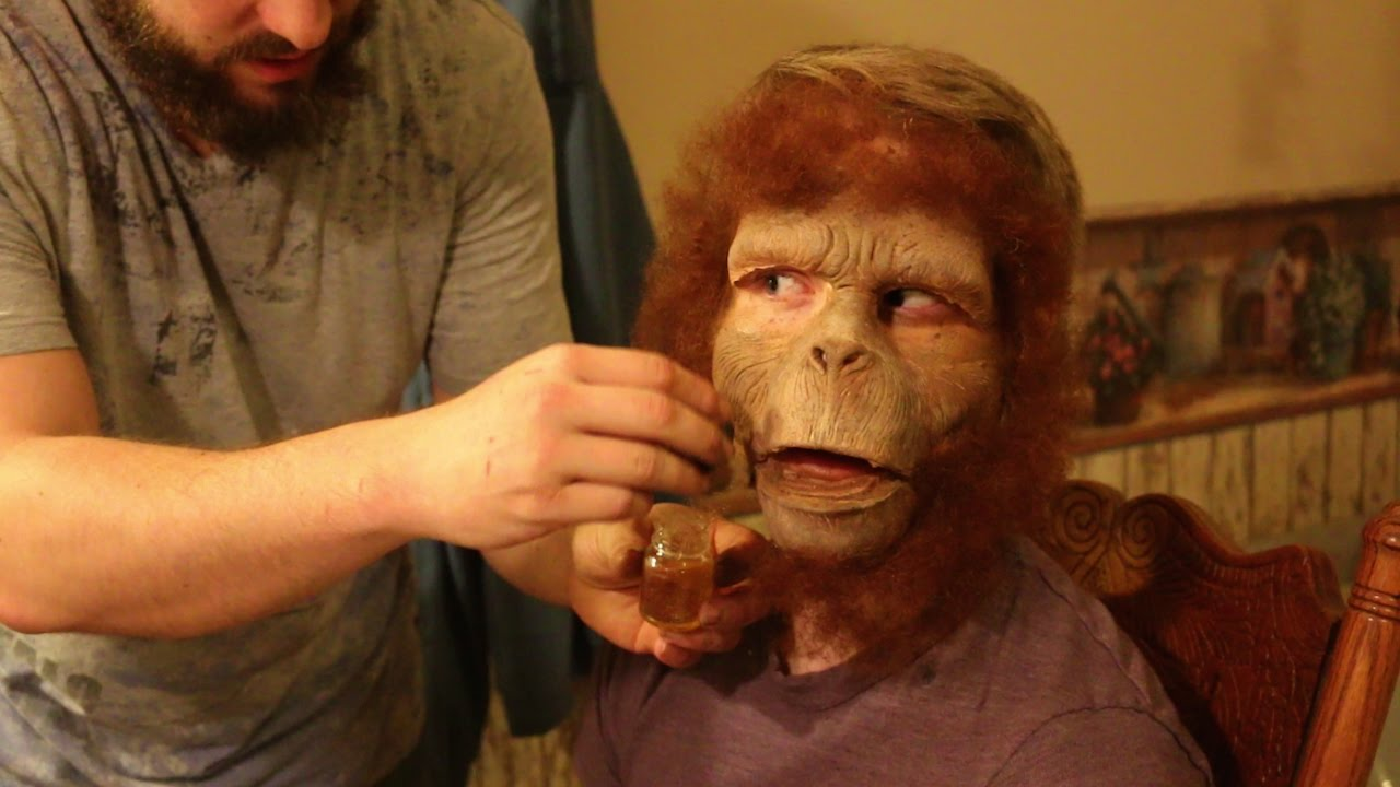 BECOMING A MONKEY! (HAUNTED BTS)