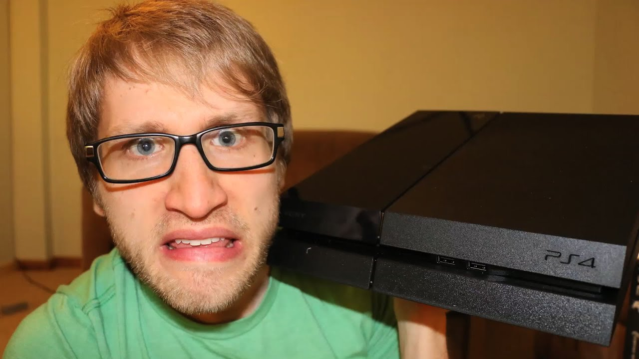 ANGRY NERD UNBOXES PS4!