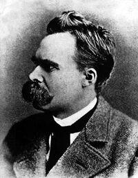 Friedrich Nietzsche in 1882