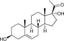 17-Hydroxypregnenolone chemical structure