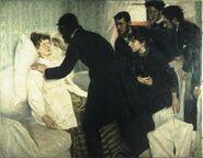 Hypnotisk seans av Richard Bergh 1887